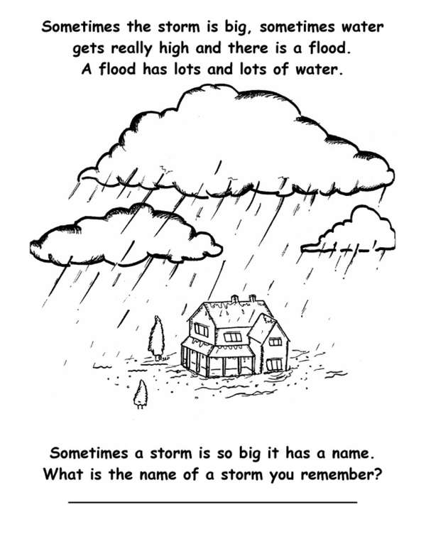 """The Great Storm and Flood Recovery Children's Story"
