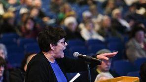 The West Islip school board presented a proposalto