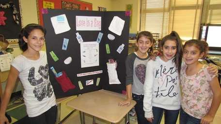 East Islip Middle School students created a poster
