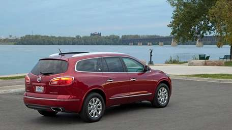 The 2013 Enclave, though useful as any three-row