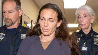 Suspended NYPD Officer Valerie Cincinelli has been held