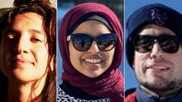 Navah Stein, left, Saira Amar and Jase Bernhardt,