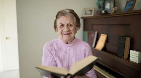 Mabelle Baepler, 93, a member of the Babylon