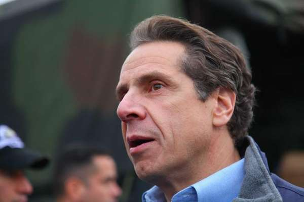 New York Gov. Andrew Cuomo gives an update