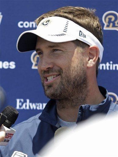 St. Louis Rams offensive coordinator Brian Schottenheimer answers