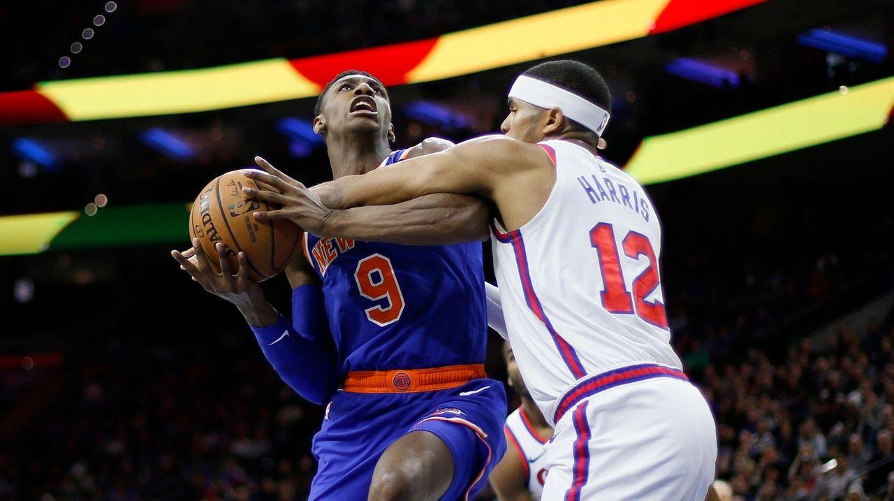 Knicks' rebuild a different process than 76ers'