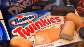 Hostess, the maker of Twinkies, Ding Dongs and