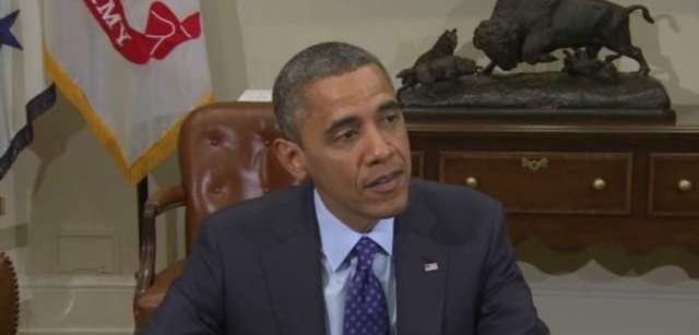 President Barack Obama appealed for cooperation and compromise