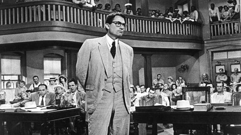 Gregory Peck won an Academy Award for his