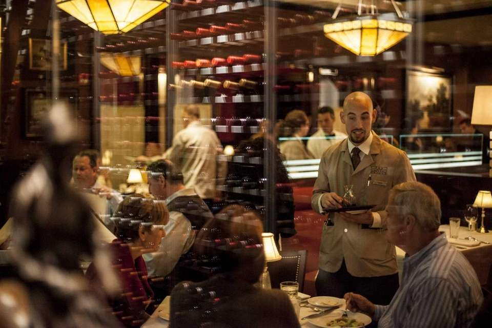 On a weekend night, the polished Capital Grille