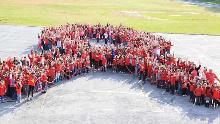 Dever Elementary students in Valley Stream took a
