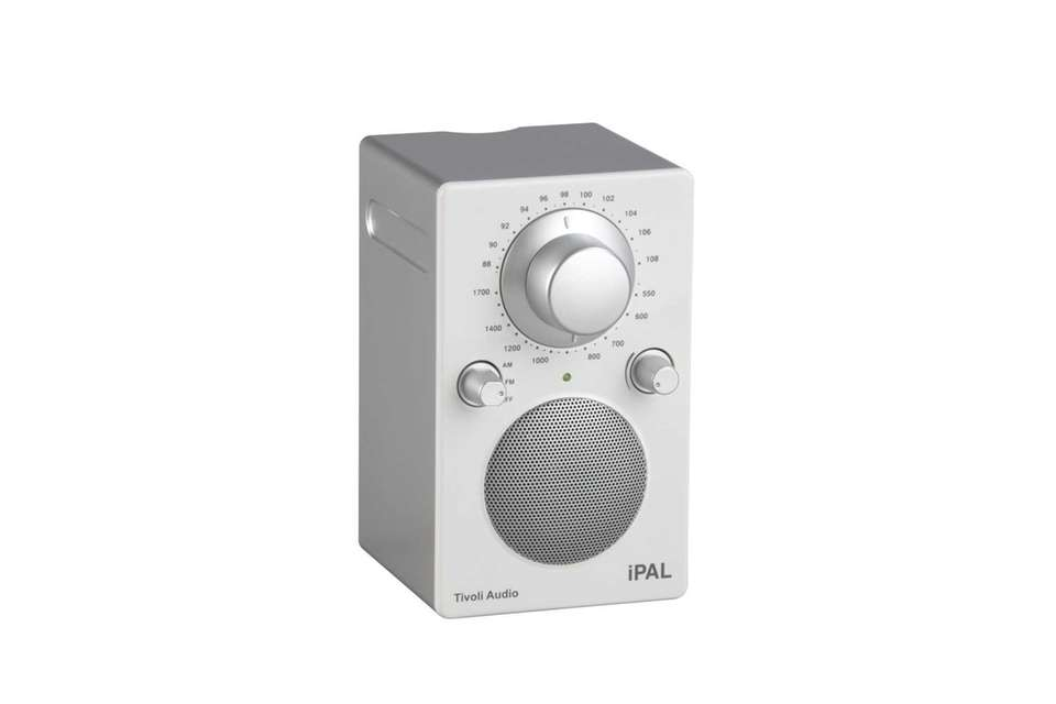 The iPAL is a portable, battery-operated AM/FM radio
