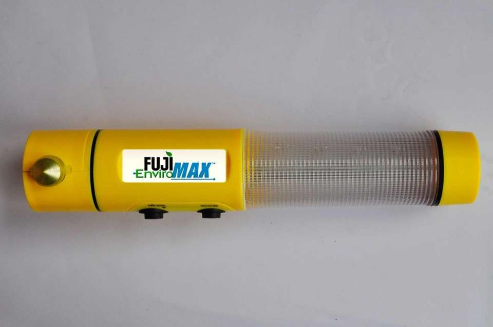 Made by Fuji, this tool runs on two