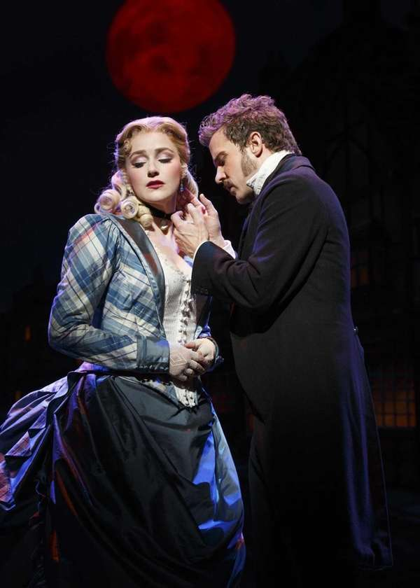 "Betsy Wolfe and Will Chase in ""The Mystery"