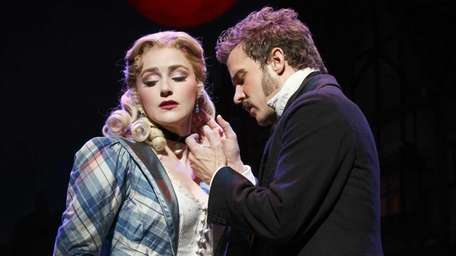 Betsy Wolfe and Will Chase in