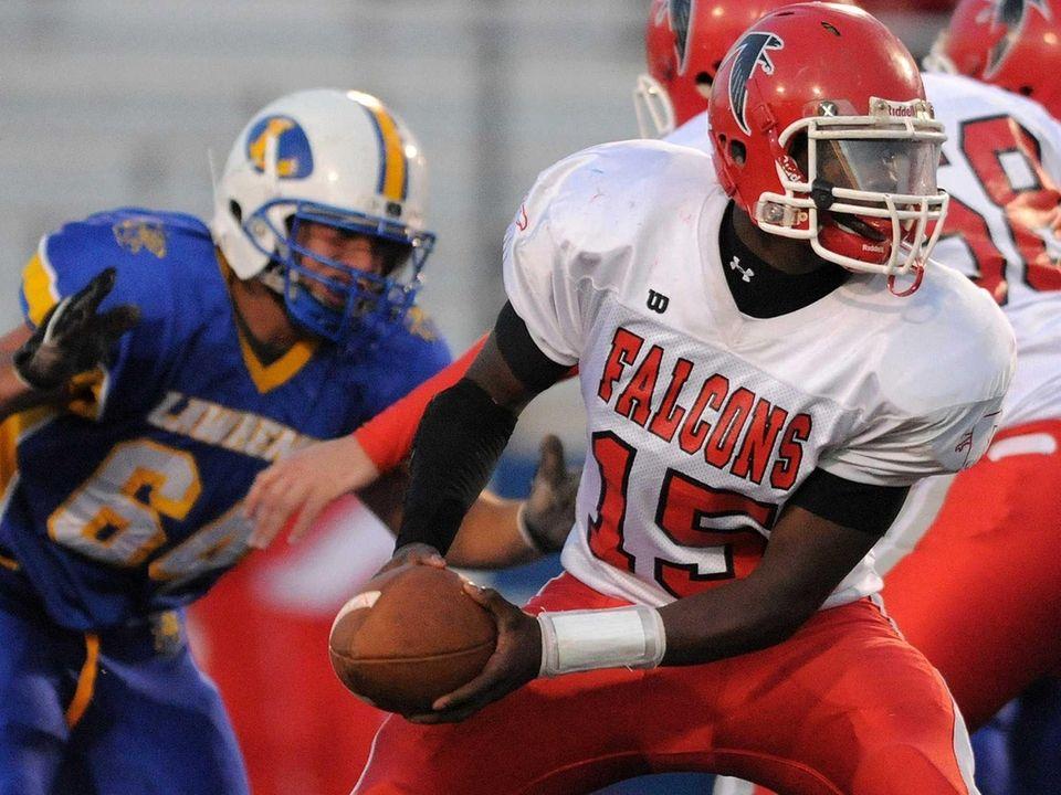 Valley Stream South High School quarterback Bryan Providence