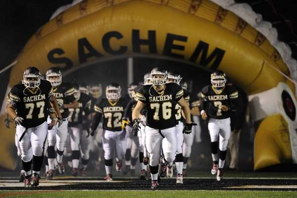 Sachem North takes the field against William Floyd