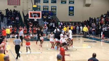 Highlights from Amityville's 78-75 win over Center Moriches in