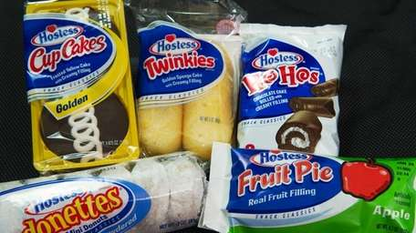 DOUGHNUTS AND PIES: Hostess added doughnuts to its