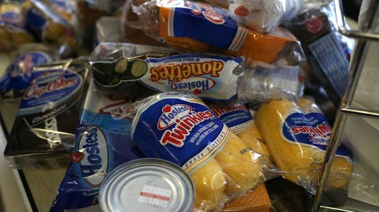 TWINKIES: According to Reuters, Hostess collected recipes from