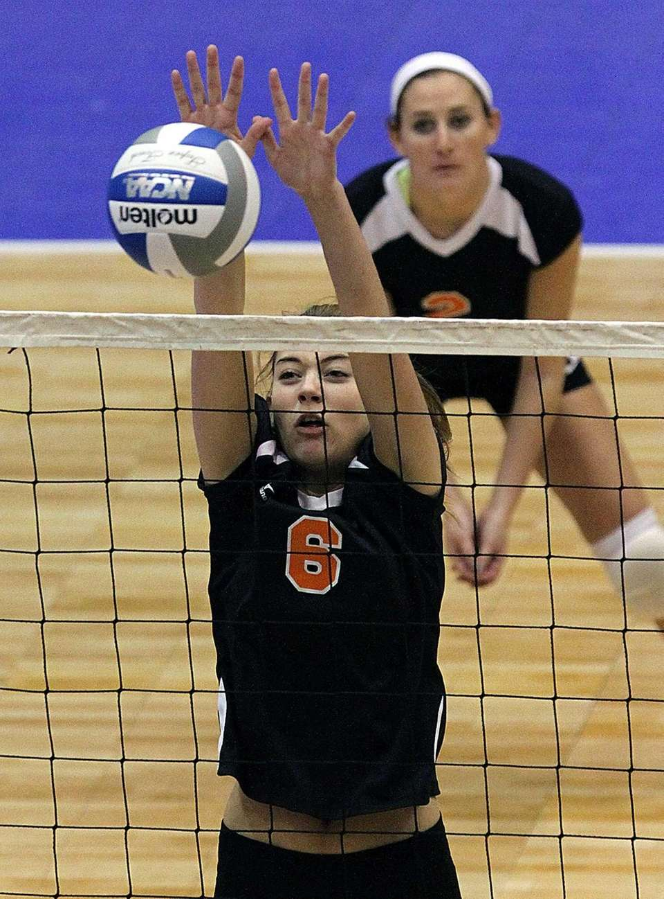 Babylon's Margot Zamet goes up for the block