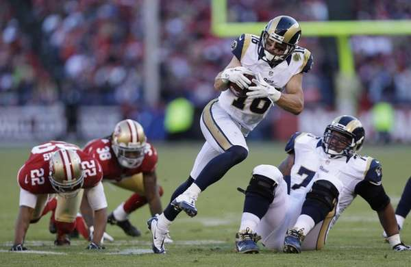 St. Louis Rams wide receiver Danny Amendola carries