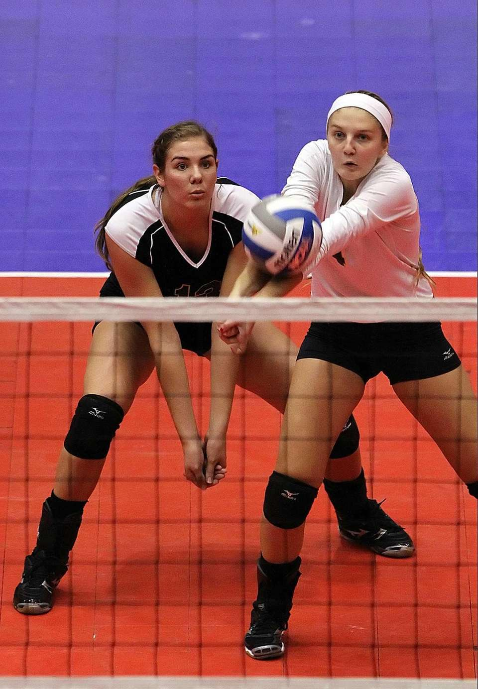 Ward Melville's Emily Astarita and Carly Lombardo look