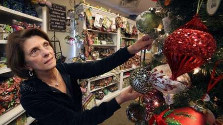 Patricia Turner, owner of Roomers Gift Shoppe in
