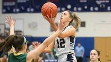 Northport's Danielle Pavinelli puts one up over Ward