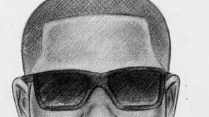 This sketch released by the New York Police