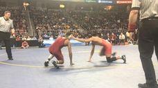Center Moriches' Jordan Titus won by 9-2 decision