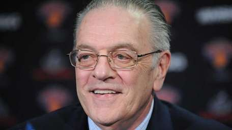 Former Knicks president Donnie Walsh praised the work