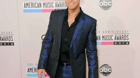 Former 'NSync member Lance Bass attends the 40th