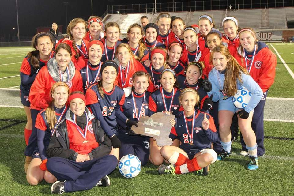 South Side poses with its trophy. (Nov. 18,