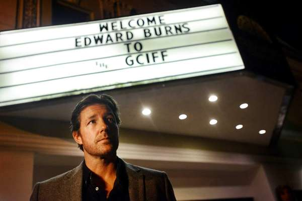 Ed Burns attended a preview of his new