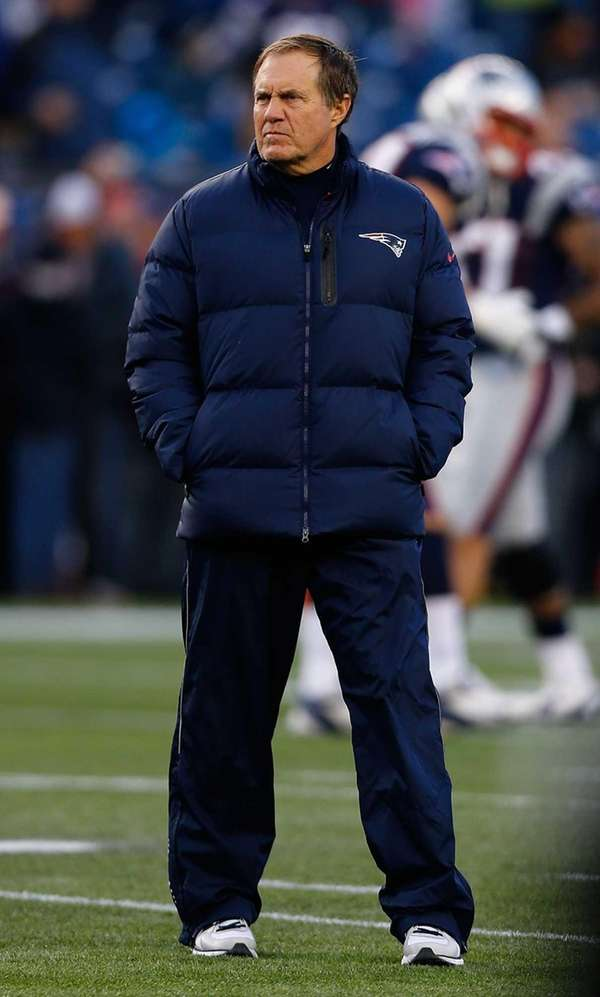 Head coach Bill Belichick of the New England