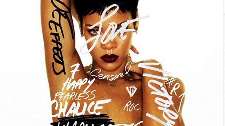 Rihanna's album cover for