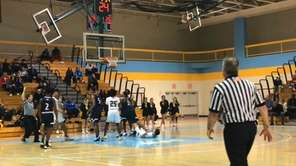 St. Anthony's defeated St. Mary's, 60-37, in a