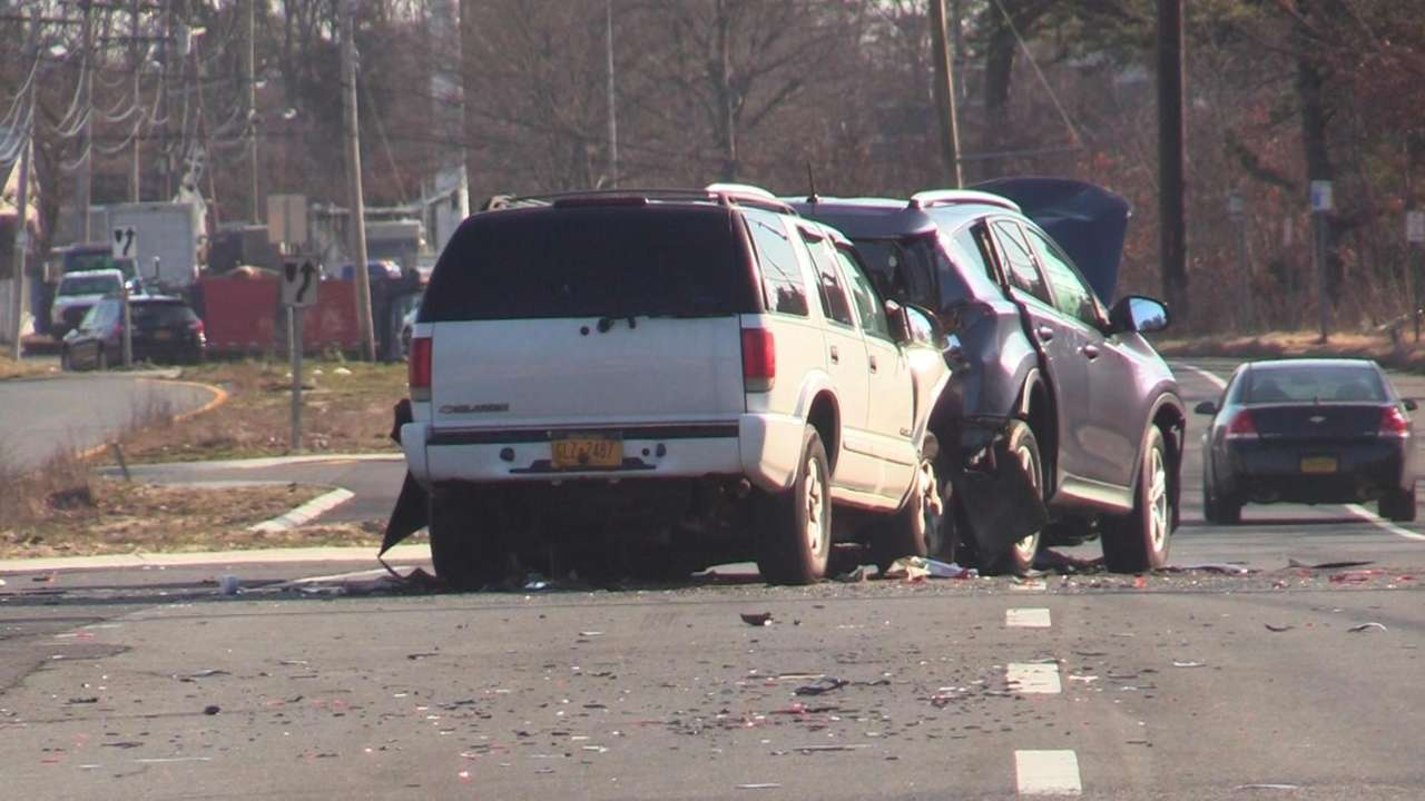 Afemale pedestrian was killed at the scene of