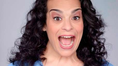 Comedian Jessica Kirson, 50, of West Hempstead will