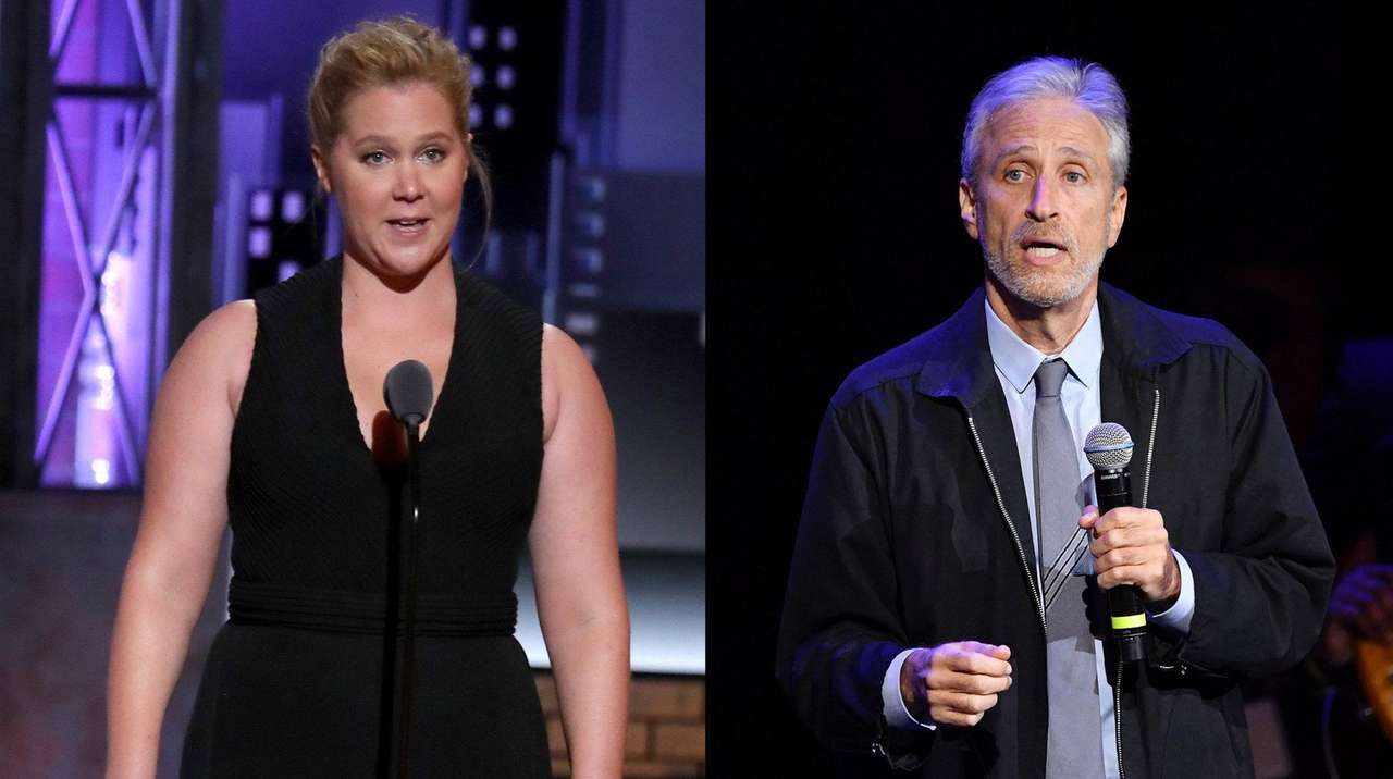 Amy Schumer set for Jon Stewart-hosted 'Night of Too Many Stars'