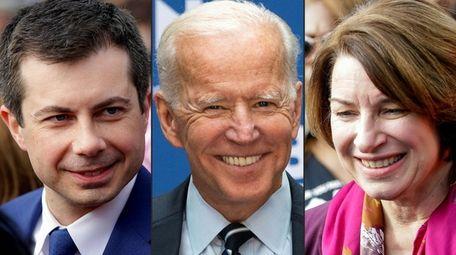 Joe Biden, center, has two new key endorsements:
