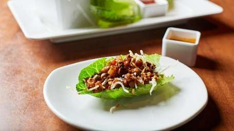 Chang's chicken lettuce wraps at P.F. Chang's in