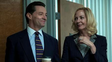 Hugh Jackman and Allison Janney star in HBO's