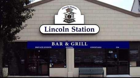 Exterior shot of the new Lincoln Station Bar
