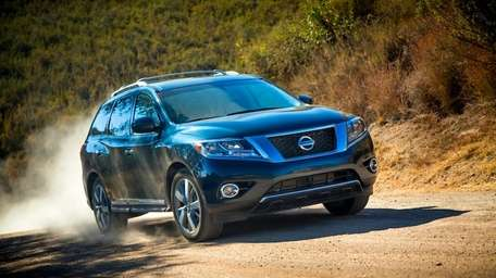 What the Pathfinder loses in extreme off-road ruggedness