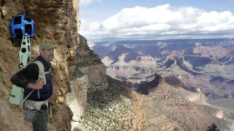 Bright Angel Trail at the South Rim of