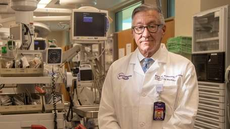 Dr. Barry Rosenthal, chairman at the emergency department