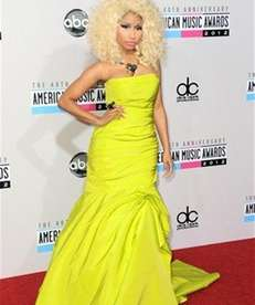 Nicki Minaj arrives at the 40th Anniversary American