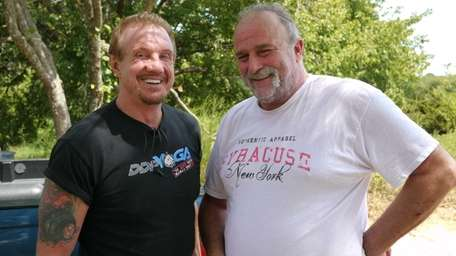 Former WCW World Heavyweight champion Diamond Dallas Page,